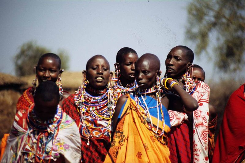 Masai women2 copie